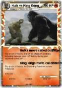 Hulk vs King