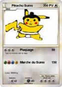 Pikachu Sumo