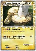 Light Evolution