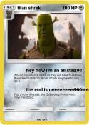 titan shrek