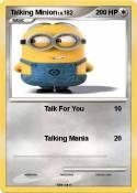 Talking Minion