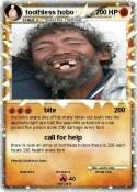 toothless hobo