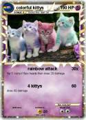 colorful kittys