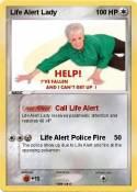Life Alert Lady