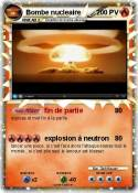 Bombe nucleaire