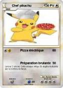 Chef pikachu