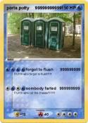 porta potty
