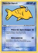 Peixe De Ouro 9