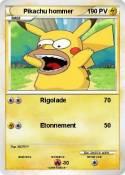 Pikachu hommer