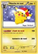 Pikachu de noel