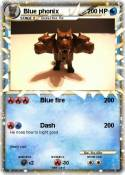 Blue phonix
