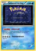 pokemon my boy
