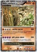 bebe panthere