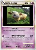 SMILE COW
