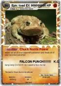 Epic toad EX