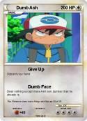 Dumb Ash