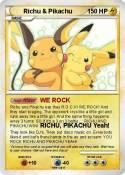 Richu & Pikachu