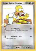 Homer Eating