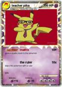 teacher pika