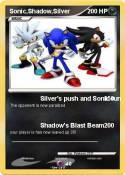 Sonic,Shadow,Silver