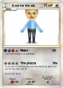 A mii for the