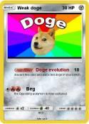 Weak doge