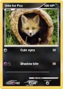 Vote for Fox