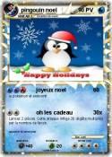 pingouin noel
