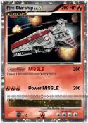 Fire Starship