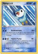 Piplup Lv.8
