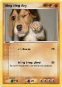 bling bling dog
