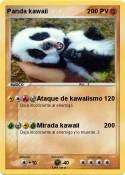 Panda kawaii
