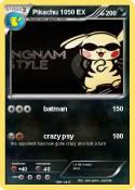 Pikachu 1050 EX