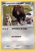 ours poursuive