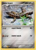 metel lizard