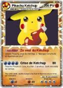 Pikachu Ketchup