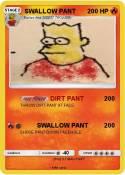 SWALLOW PANT