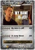 My name is Jeff