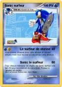 Sonic surfeur