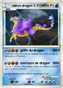 raikou dragon X