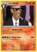 I'm Obama,