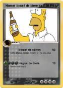 Homer bouré
