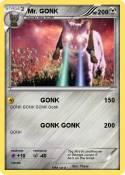 Mr. GONK