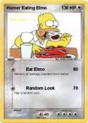 Homer Eating