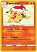 Pikachu Noel