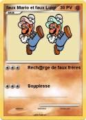 faux Mario et