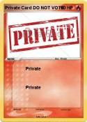 Private Card DO