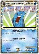 DEUUEAUGH Fish