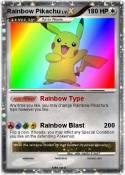 Rainbow Pikachu