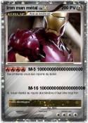 Iron man métal